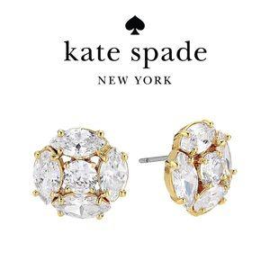 🆕 Kate Spade Cubic Zirconia Cluster Stud Earrings